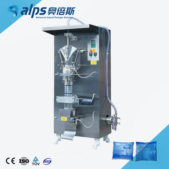 High Efficiency Ce Approved Water Pouch Making Machine / Sachet Filling Machine