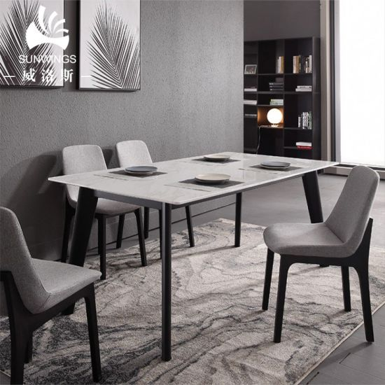 Peachy 2019 Northern Europe Modern Design Marble Table Top And Ash Wood Legs Dining Table Download Free Architecture Designs Rallybritishbridgeorg