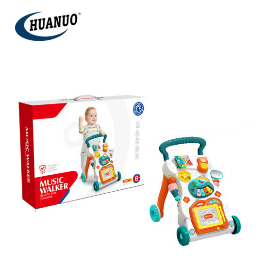 Baby Learn to Walk Toy Plastic Simple Music Baby Toddler Walker Toys