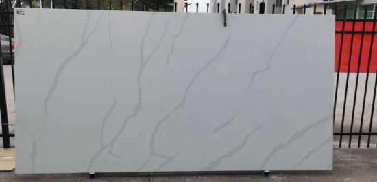 Calacatta Quartz Stone in Natural Vein with Classic Colors