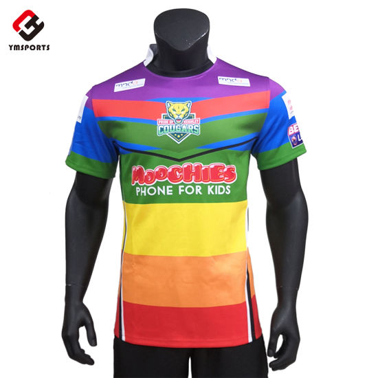 Wholesale Sportswear Custom Gym Wear Sublimation Rugby Wear