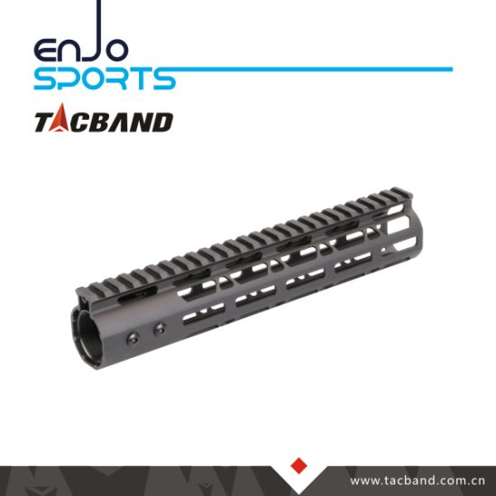"Lha Series M-Lok 10"" Free Float Keymod Handguard Picatinny Top Rail pictures & photos"