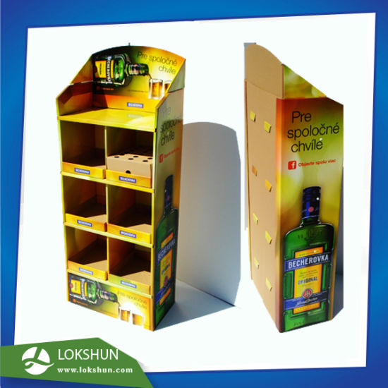 Paper Display Rack, Floor Display Stand, Promotion Cardboard Display Stand pictures & photos