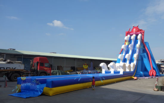 50 M Long New Design Giant Inflatable Water Slide pictures & photos