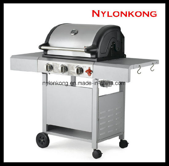 Wholesale Outdoor 3-Burners Gas BBQ Grill Burner pictures & photos