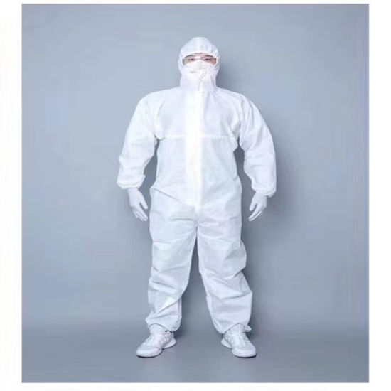 Coverall Disposable Protective Clothing Safety Disposable Coverall Isolation Gown
