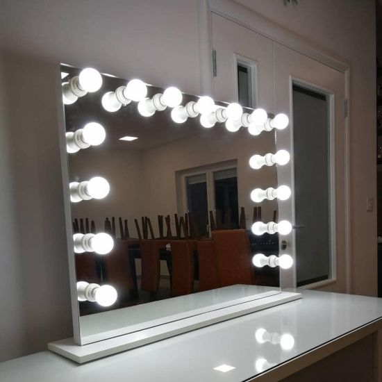 China Hot Touch Screen Bluetooth, Vanity Mirror With Lights Frameless