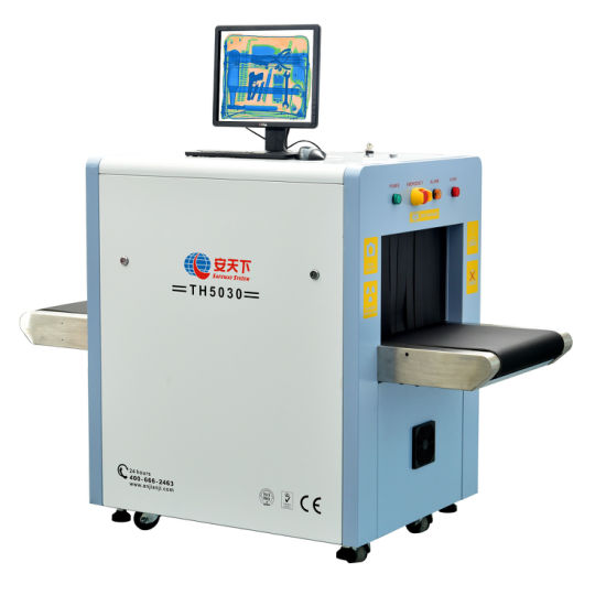 Security Th5030a X Ray Baggage Scanner For Inspection Small Bag
