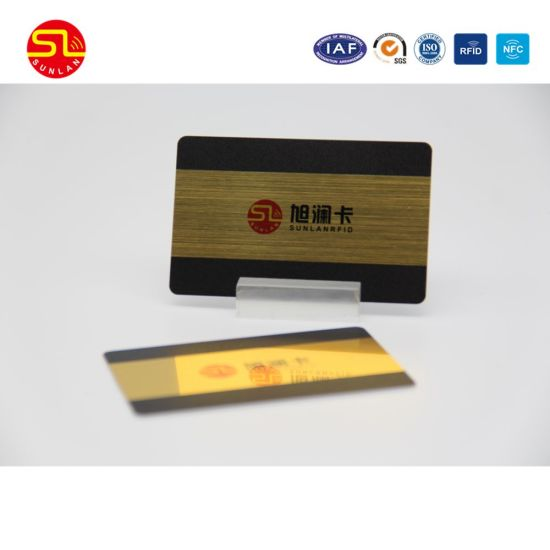 New Design Plastic Magnetic Stripe Card pictures & photos