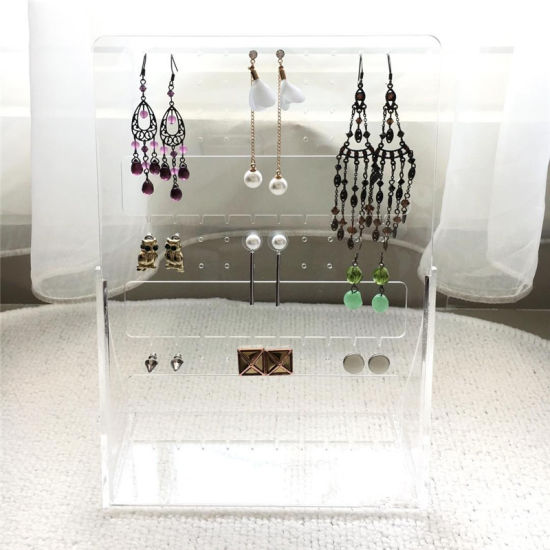 1 pc Acrylic Clear Earring Display Tree Stand