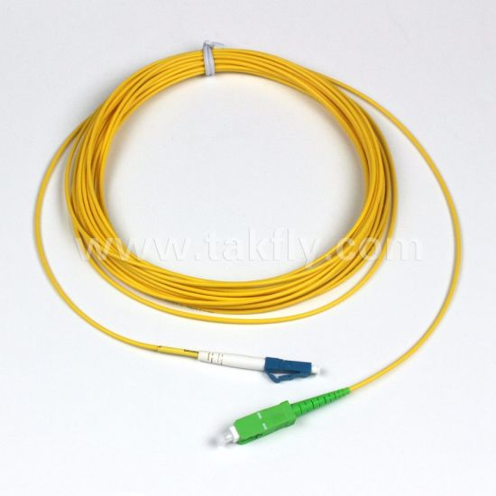 Om3 Duplex LC Fiber Optic Patch Cords/Om3 Fiber Optic Patch Cord pictures & photos