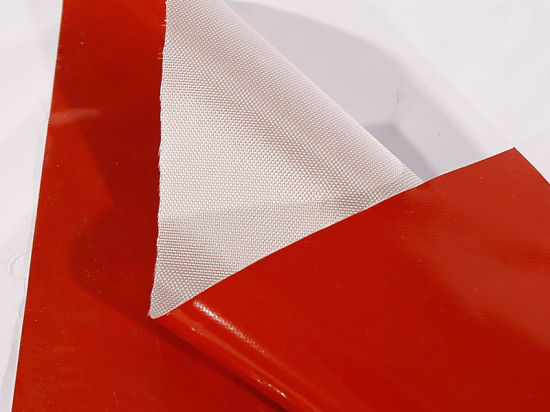 China Fireproof Silicone Coated Glass Fiber Fabric Cloth