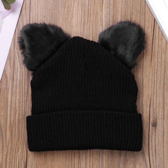 0ae2d2624471f Hot Selling Fashion Unisex Women Men Sport Winter Knitted Hat Custom Warm  Ski Cap Solid Color Beanie Hats