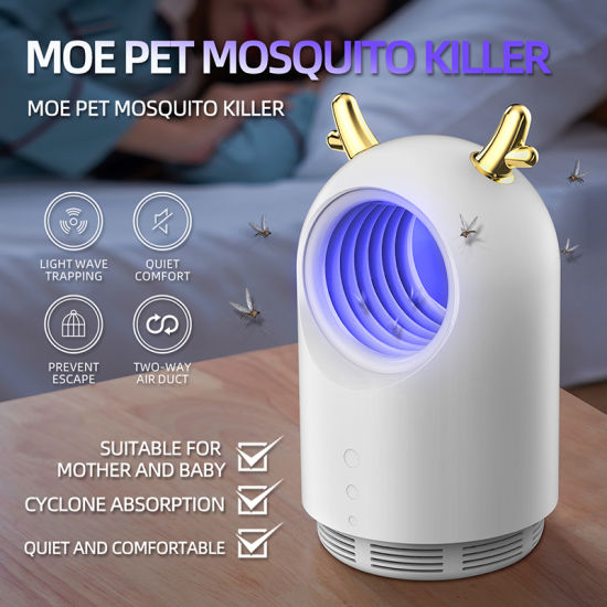 2020 New Indoor USB Electronic Insect Pest Zapper Insect Repeller Mosquito Killer Lamp pictures & photos