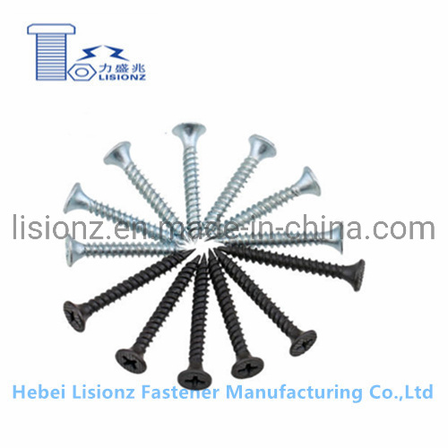 15mm-153mm Fine Thread and Coarse Thread Zinc Plating Dry Wall Screw