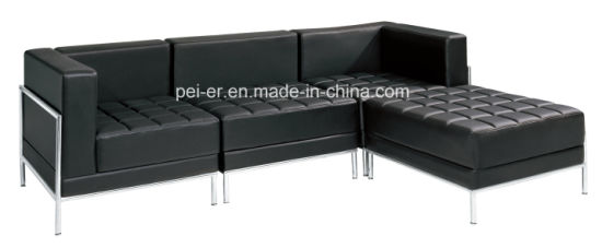 Sofa Furniture Office Living Room Sectional Corner Leather F83