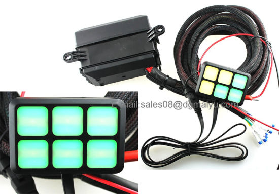 China Universally Adaptable Dc12v Led 6 Switch Panel Electronic