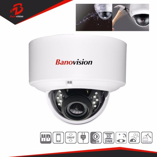 H. 265 5MP Security CCTV IP Network Dome Camera with Varifocal Lens
