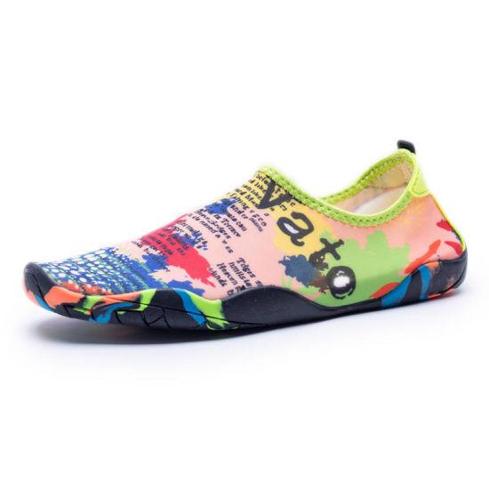 bd0afc3de909 Wholesale Outlined Toes Water Aqua Shoes Women Neoprene Aqua Shoes for  Unisex