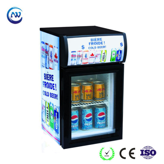 Small Capacity Single Glass Door Mini Display Beverage Cooler Jga Sc20