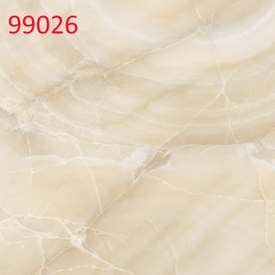 China 600X600mm Full Polish Ceramic Marble Look Floor Tiles with ...