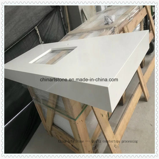 China Copy Caesarstone Quartz Countertop for Kitchen and Bathroom pictures & photos