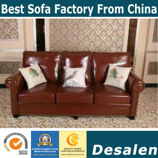 America Leather Sofa, Sectional Sofa, Amazon Sofa (806)