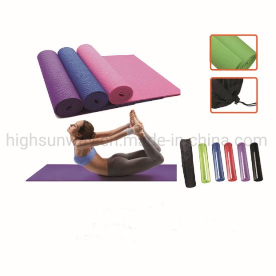 XPE Eco Friendly Exercise Premium Yoga Mat with Carry Bag