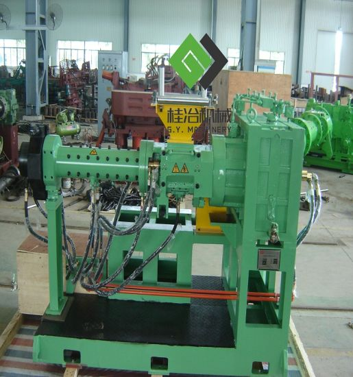 High Pressure Extruder : China advanced kg h cold feed pin rubber