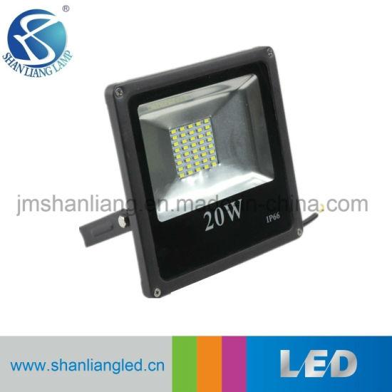 Factory IP65 LED Projector SMD5730 Slim 20W LED Floodlight
