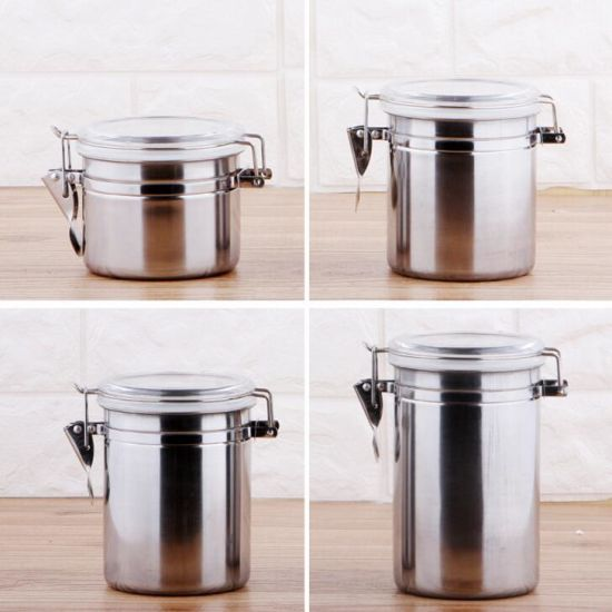 China Kitchen Stainless Steel Storage Container 4 Pcs Set China