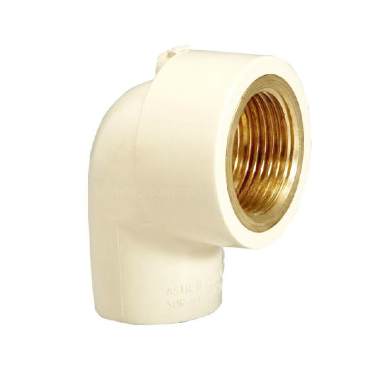Era CPVC Pipe Fitting Brass Transition Female Elbow Cts ASTM 2846 with NSF-Pw & Upc