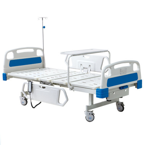 Medical Hospital Bed Prices BS - 827 Electric Hospital Bed with Two Revolving Levers