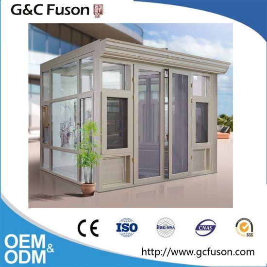 China Aluminum Frame Winter Garden Double Gl Lowes Sunroom ... on