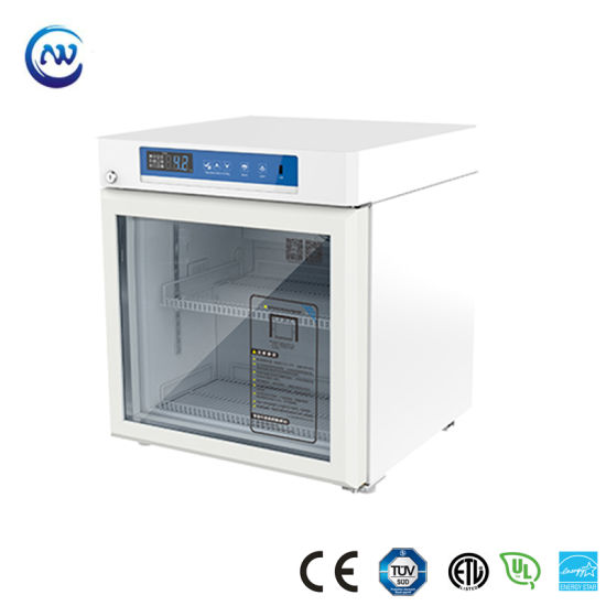 2º C~8º C Small Medical Refrigerator Pharmacy Vaccine Refrigerator