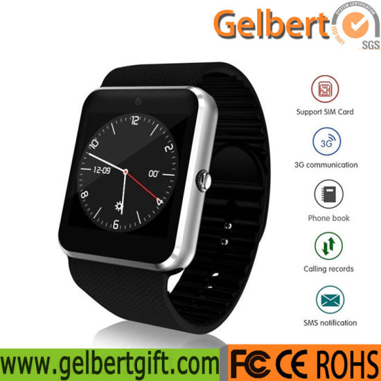 Qw08 Bluetooth Smartwatch 3G SIM WiFi GPS Sports Smart Watch pictures & photos