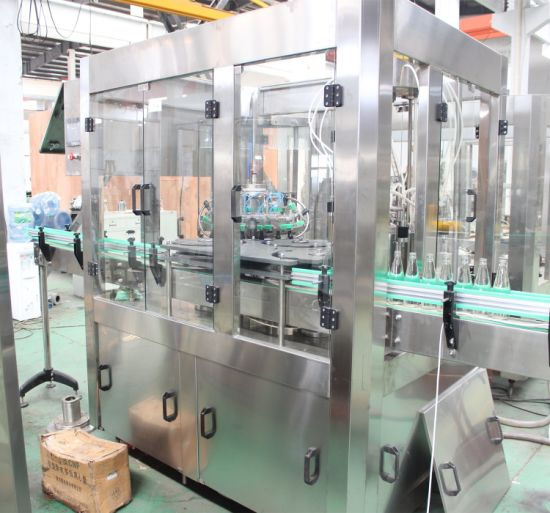 Full Automatic Juice Liner Glass Ring Bottle Production Line