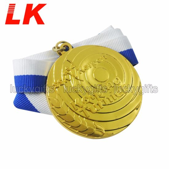 2020 Custom Cheap Metal Gold Plated Sports Blank Medal
