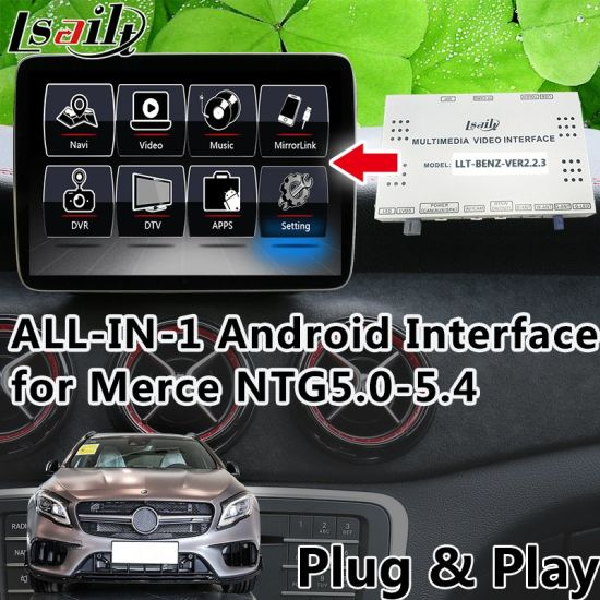 China Plug&Play All-in-1 Android Interface GPS Navigator for