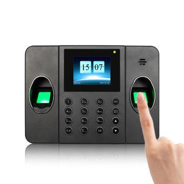 Multi Biometric Fingerprint Time Attendance System with Dual Fingerprint  Scanner