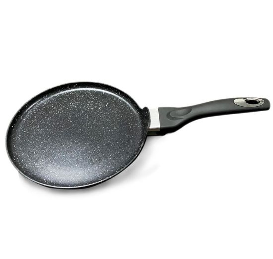 Forged Aluminum Non Stick Marble Bakeware Pancake Pan (induction Pizza Pan)