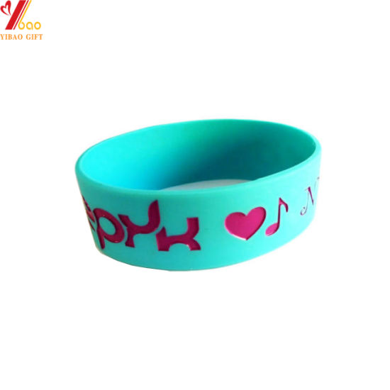 RFID Custom Fashion Silicone Bracelet and Silicone Wristband Promotion Gift (YB-HR-378)