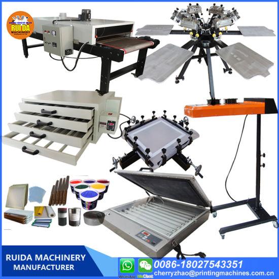 China Ns606-Mr 6 Colors Manual Silk Screen Printer Set