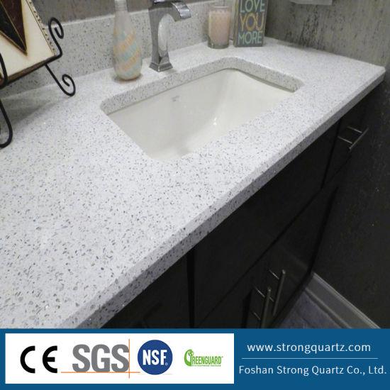 Quartz Countertop White Crystal Series