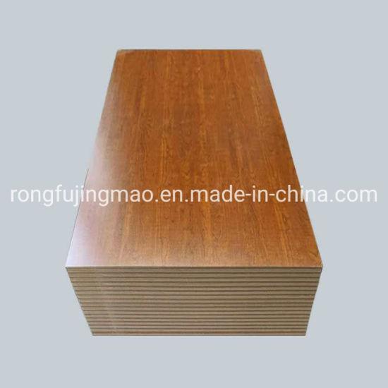 Indoor Usage and Wood Fiber Material 18mm High Gloss Melamine MDF