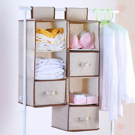 Cotton Fabric Clothes Blankets Shoes Suit Dress Garment Cosmetic Storage Bag