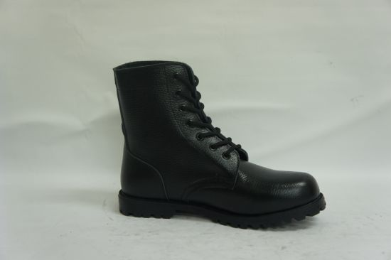 Wholesale Hot Sale High Top Leather Army Boots Men Combat Tactical