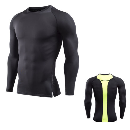 China Wholesale Gym Workout Quick Dry Clothes Mens Compression