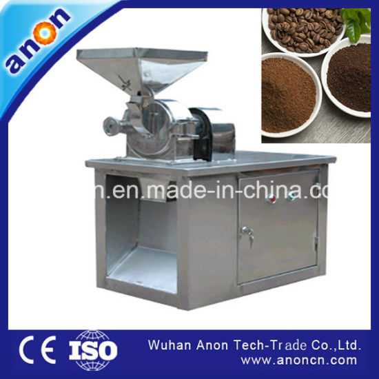Anon Industrial Powerful Coffee Grinding Machine Coffee Bean Grinder Coffee Mill pictures & photos
