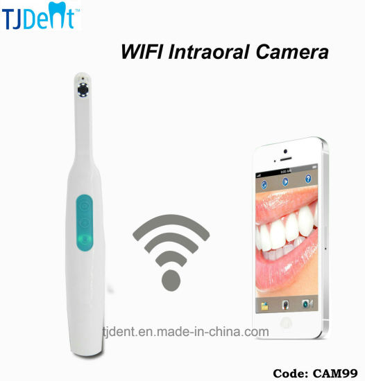 Dental Portable Easy to Use WiFi HD Intraoral Camera for Ios & Android System (CAM99)